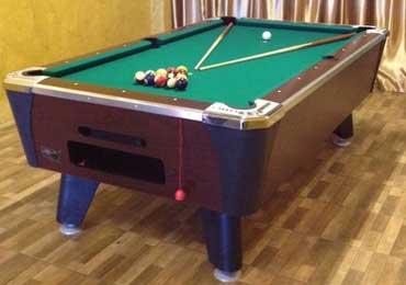 Pool Table setting and shifting