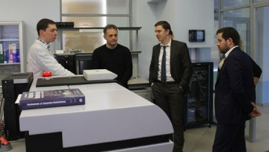 Photo of CEO of JSC Basalt Projects visited MIC Composites Russia on a working visit