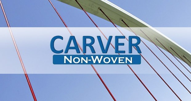 Carver launched the production of non-woven multi-material composites