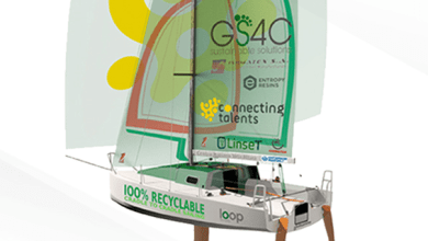 Photo of GS4C building recyclable sail-racing boat made of enriched basalt fiber