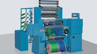Photo of Knitting machine able to process continuous basalt fiber to be showcased at Techtextil