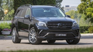 Photo of Mercedes-Benz GLS Black Crystal got a tuning kit based on basalt fiber