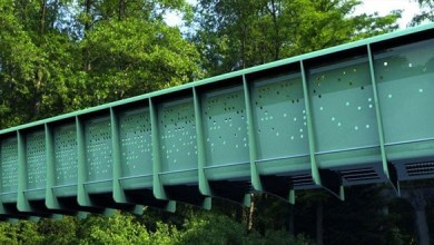 Photo of UK constructed the first ever modular composite bridge