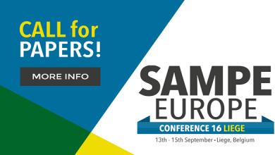 Photo of С 13 по 15 сентября в Льеже (Бельгия) пройдет конференция SAMPE Europe 2016