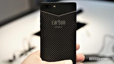 Photo of Первый в мире смартфон из углеродного волокна