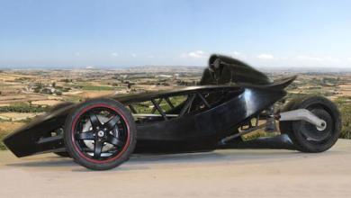 Photo of Unique electric sports car Black Mamba: a composite solution from Malta
