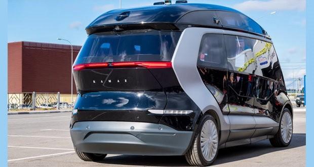 Unmanned basalt composite electric bus tested in Skolkovo