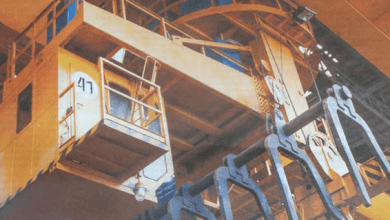 Photo of Kharkov plant applies basalt insulation boards for cabins of metallurgical cranes