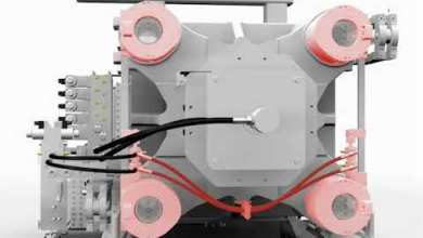 Photo of Working principle GX series injection molding machine's clamp force build-up
