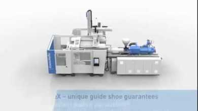 Photo of Working principle GX series injection molding machine's clamp unit
