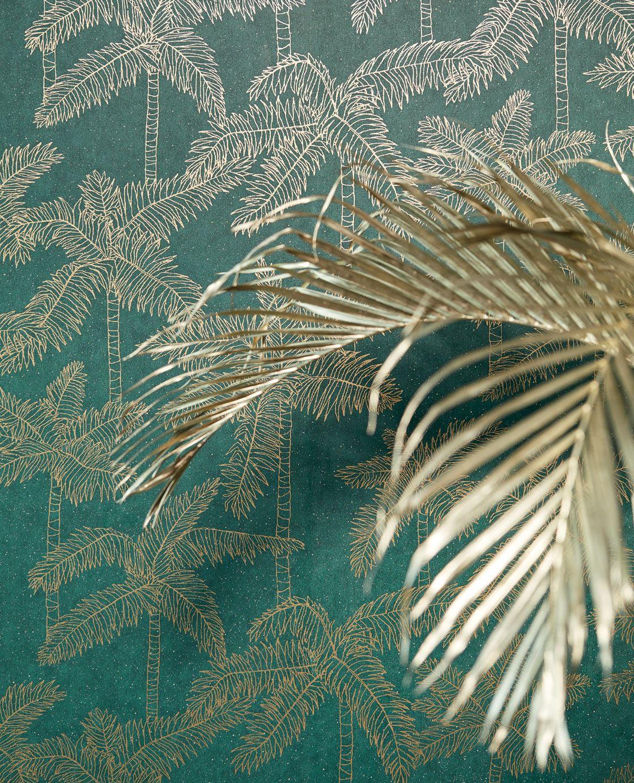 Vivid palmboom behang van Eijffinger