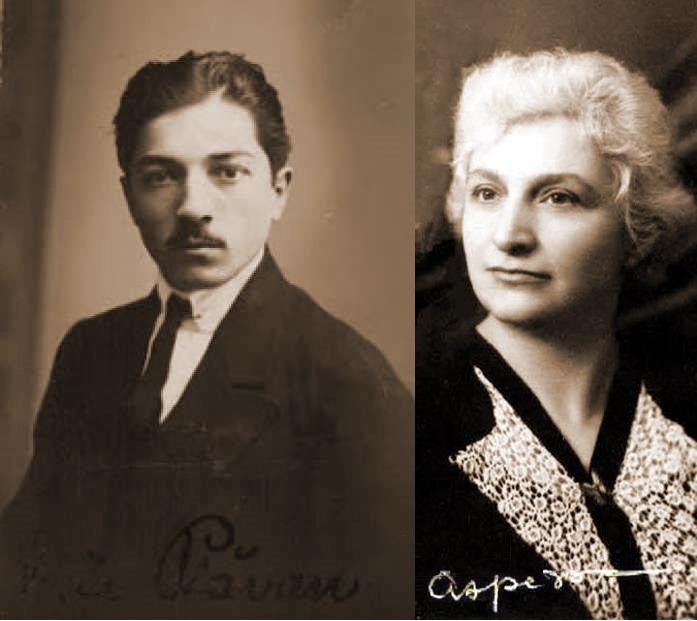 Vasile Plavan Glasul Bucovinei si Doamna Aspazia Otel Petrescu - Basarabia-Bucovina.Info