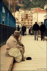 Le mendiant du pont