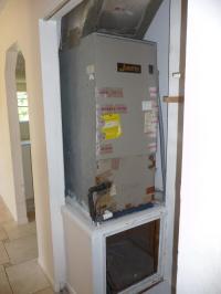 Gas Furnace Closet - Data SET