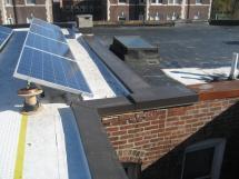 Metal Roof Flashing On Parapet Walls