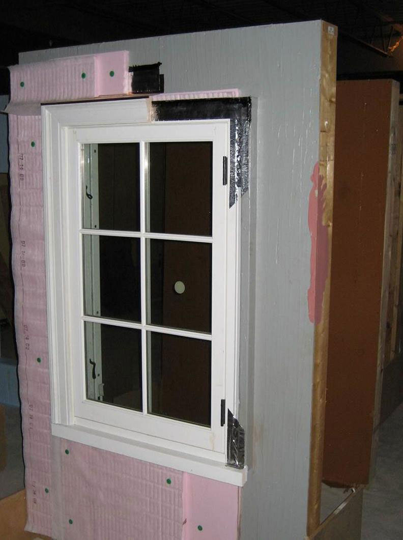 Continuous Rigid Insulation SheathingSiding Building