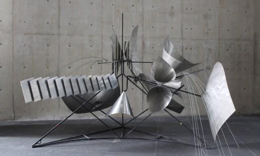 バシェ音響彫刻・桂フォーン