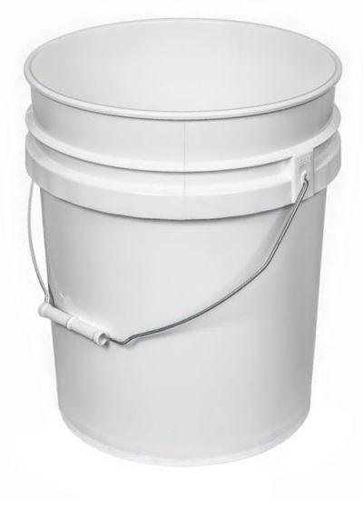 How To Open 5 Gallon Paint Bucket : gallon, paint, bucket, Gallon, Plastic, Bucket,, Head,, Thickness, White