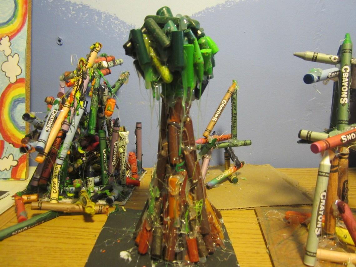 Crayon Tree