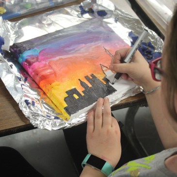 Melted Crayon Cities
