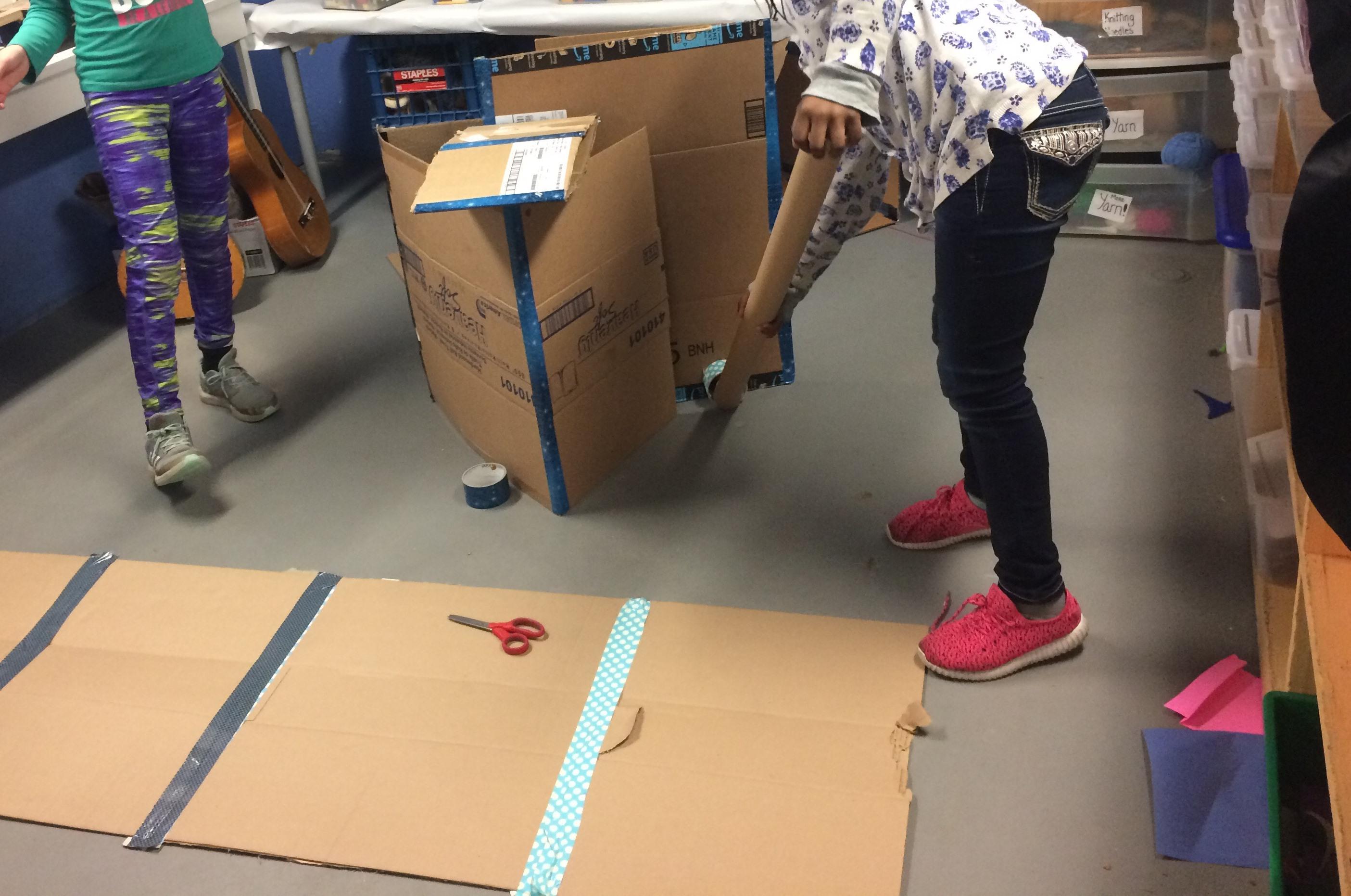 Cardboard, Duct Tape….?
