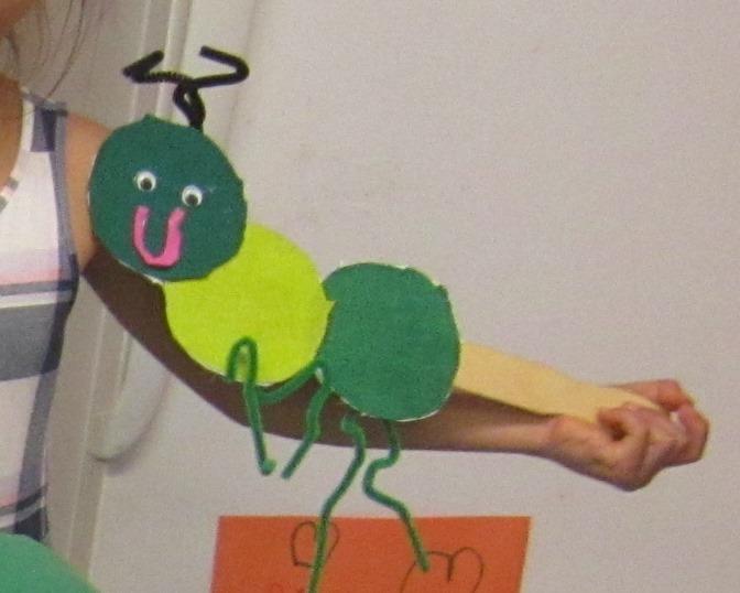 Grasshopper Puppets
