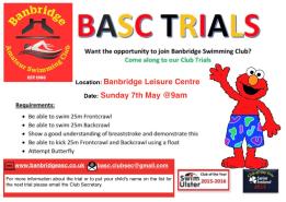 Lets Go Banbridge!!