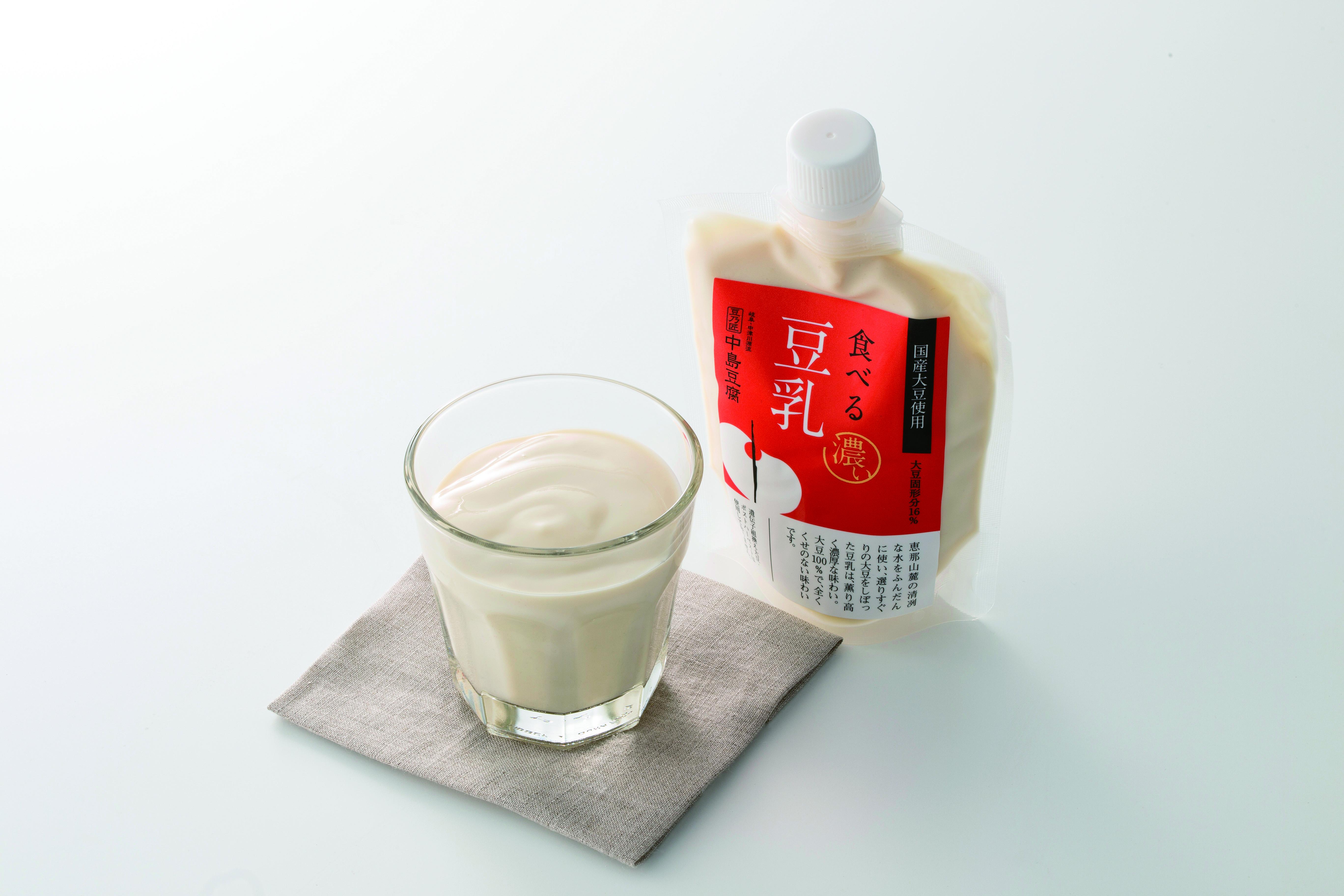 豆乳 | 豆乃匠 中島豆腐