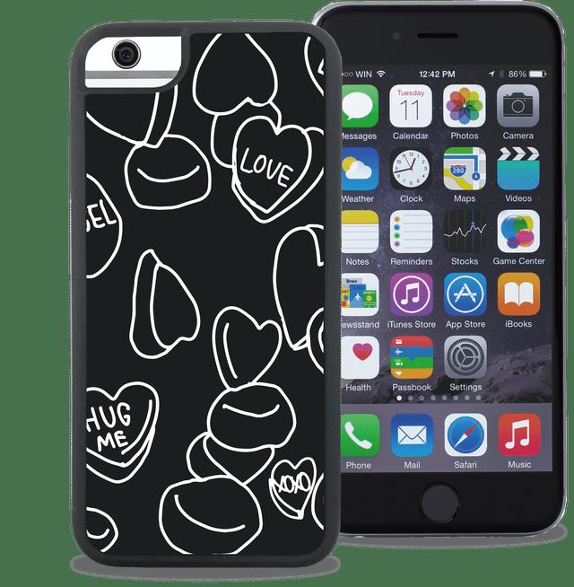 ウェイリー(WAYLLY) LOVE CANDY ※iPhone主要全機種対応!iPhone5/5s/5c/SE/6/6s/7/8/PLUS/X/ 対応!