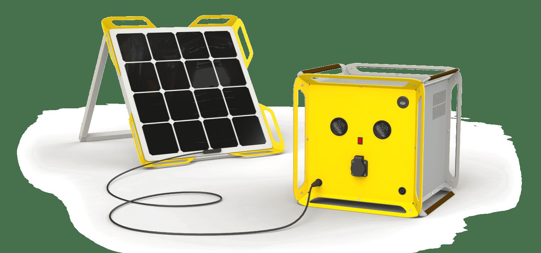 SolCube-generator-solar-module