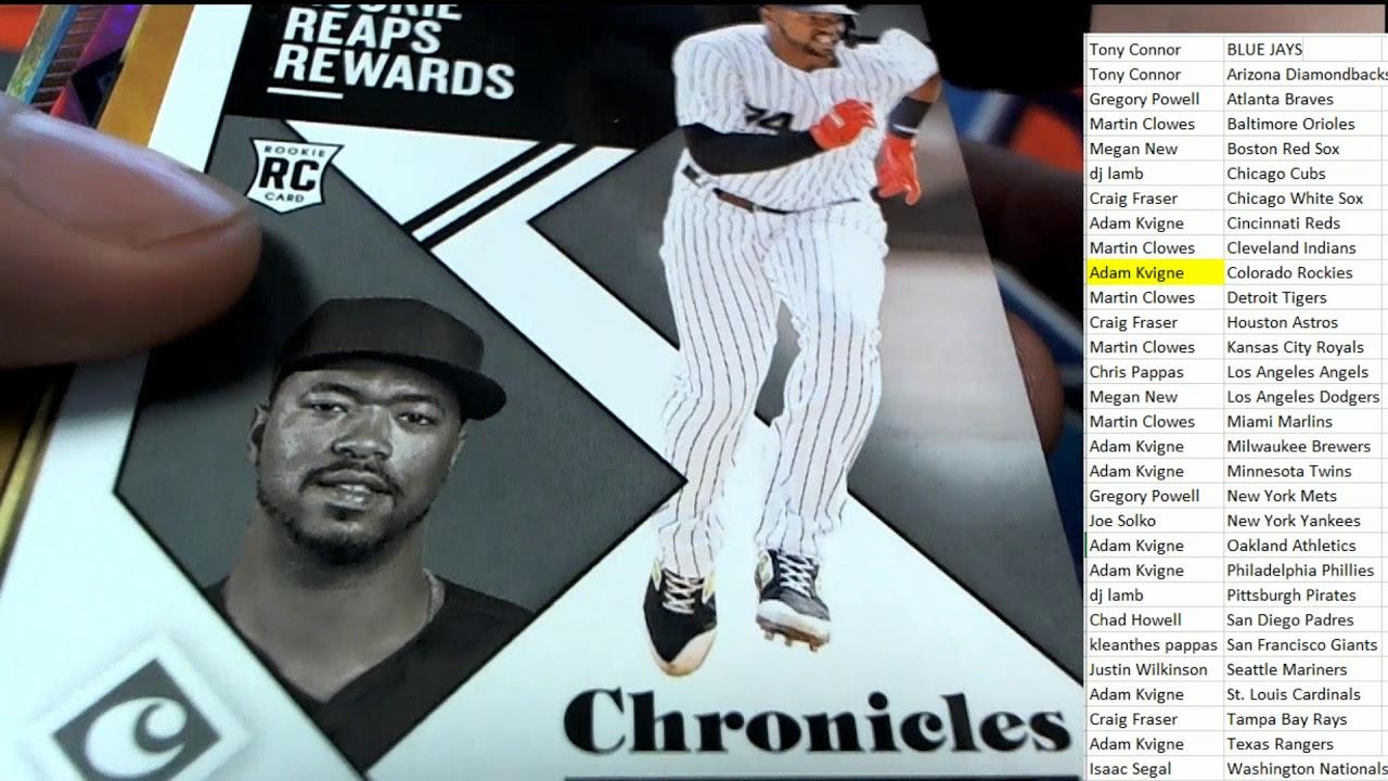 2019 Panini Chronicles Baseball Hobby Box ID 19PANCHRONBBPYT701 - 2019 Panini Chronicles Baseball Hobby Box ID 19PANCHRONBBPYT701