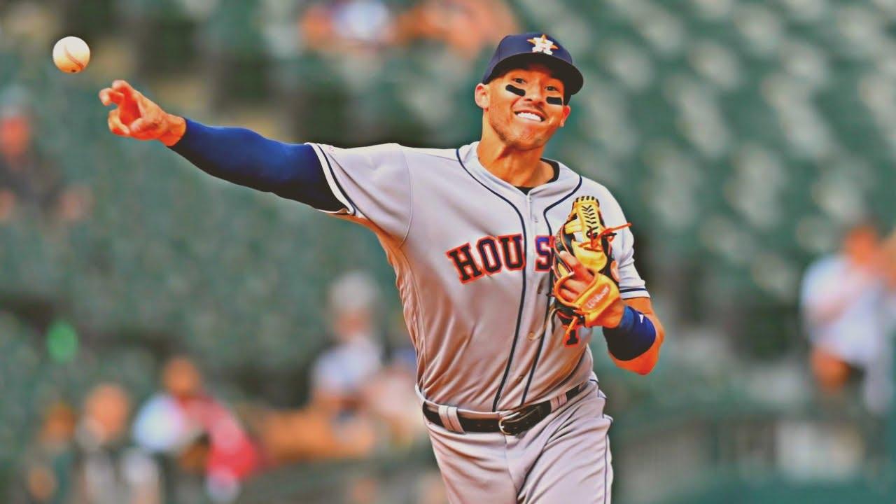 Baseball Carlos Correa 2019 Defensive Highlights - Baseball - Carlos Correa 2019 Defensive Highlights