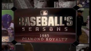 MLB Baseballs Seasons 1985 - MLB Baseball's Seasons: 1985