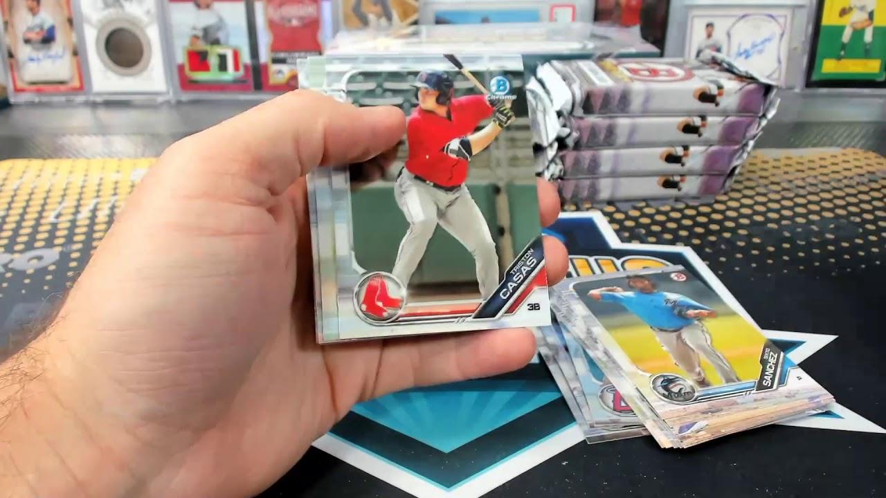 2019 Bowman Draft Baseball Jumbo 4 Box Half Case Break 44 - 2019 Bowman Draft Baseball Jumbo 4 Box Half Case Break #44