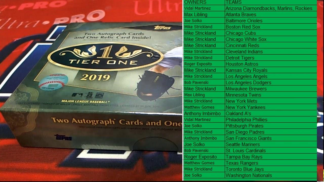 2019 Topps Tier One Baseball ID 19TIERONEBB302 - 2019 Topps Tier One Baseball ID 19TIERONEBB302