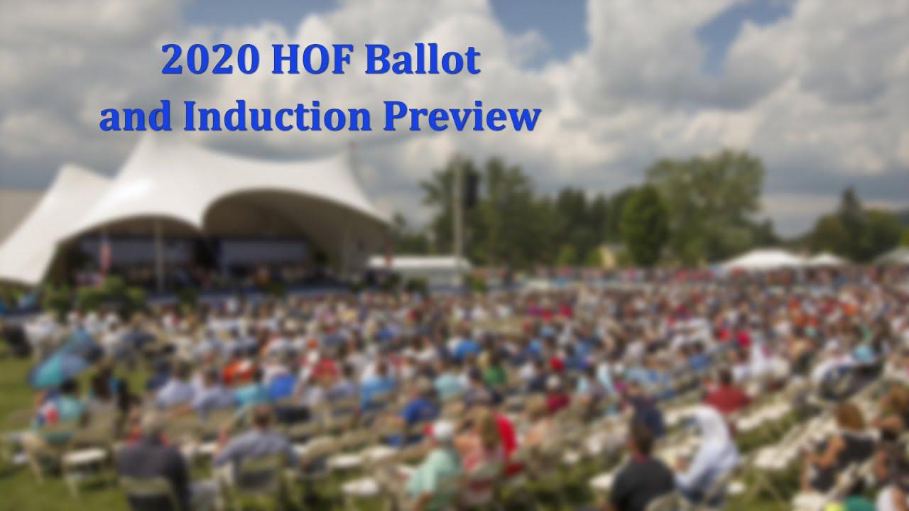 2020 Baseball Hall of Fame Ballot and Induction Preview - 2020 Baseball Hall of Fame Ballot and Induction Preview