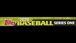 A Look At 2020 Topps Baseball Series One - A Look At 2020 Topps Baseball Series One