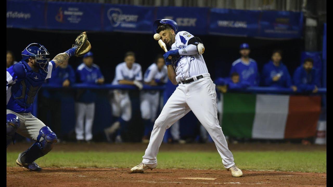 Baseball Highlights Hit By Pitch Chris Colabello of Italy - Baseball Highlights: Hit By Pitch Chris Colabello of Italy