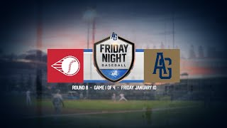 LIVE Friday Night Baseball R8 G1 Perth Heat Adelaide Giants - LIVE: Friday Night Baseball   R8 - G1   Perth Heat @ Adelaide Giants