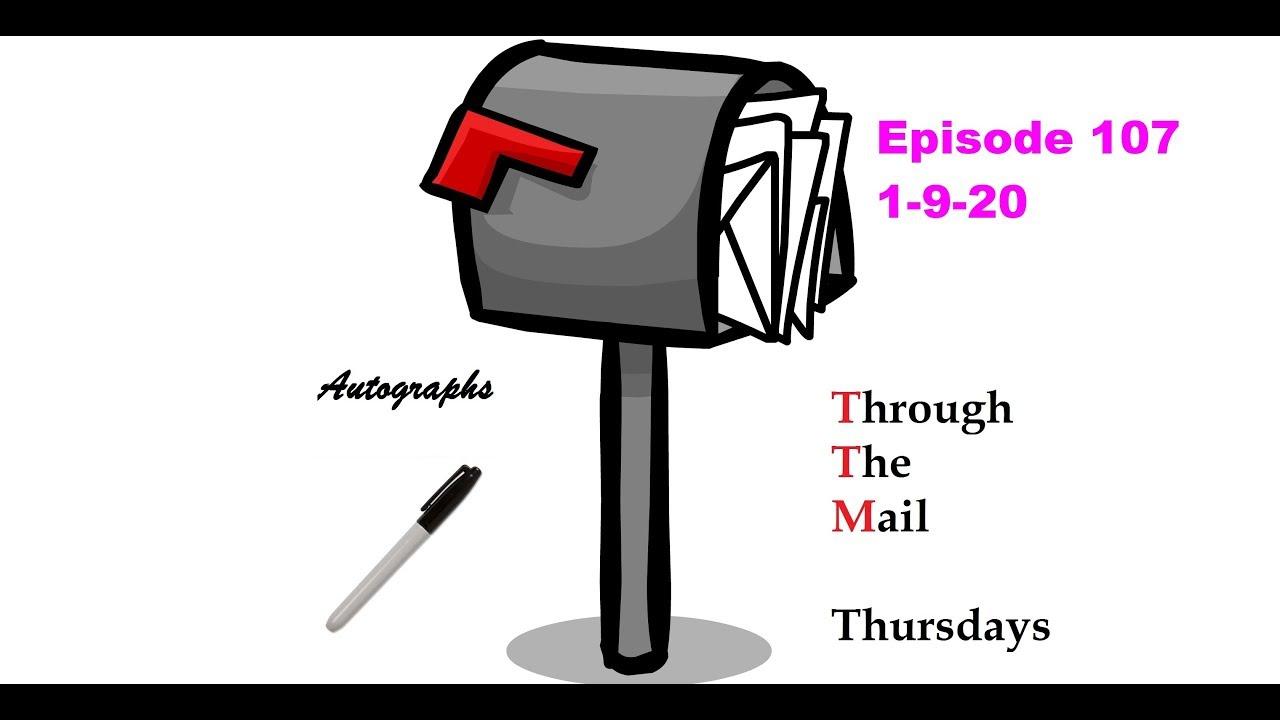 TTM Thursday Episode 107 3 Baseball Returns Through The Mail Thursdays - TTM Thursday Episode 107 ( 3 Baseball Returns ) Through The Mail Thursdays
