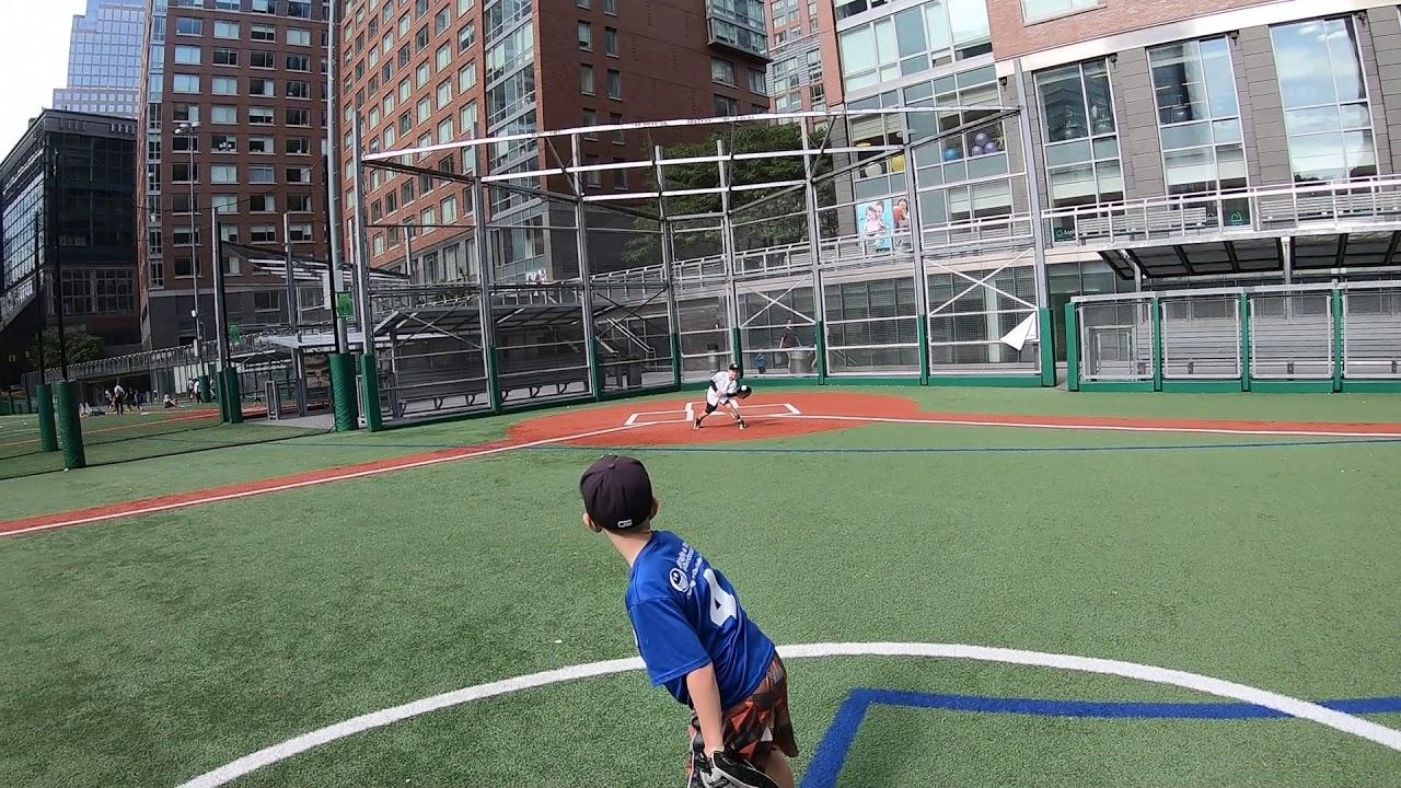 cool baseball field in lower Manhattan - cool baseball field in lower Manhattan