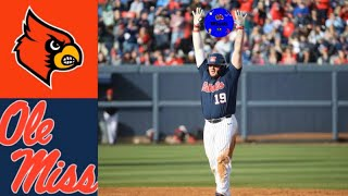 2 Louisville vs 23 Ole Miss Game 2 2020 College Baseball Highlights - #2 Louisville vs #23 Ole Miss (Game 2) | 2020 College Baseball Highlights