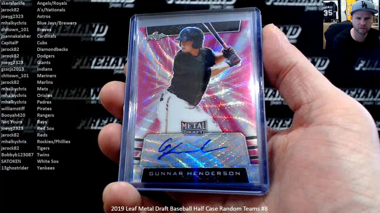 2019 Leaf Metal Draft Baseball Half Case Random Teams 8 2620 - 2019 Leaf Metal Draft Baseball Half Case Random Teams #8 ~ 2/6/20