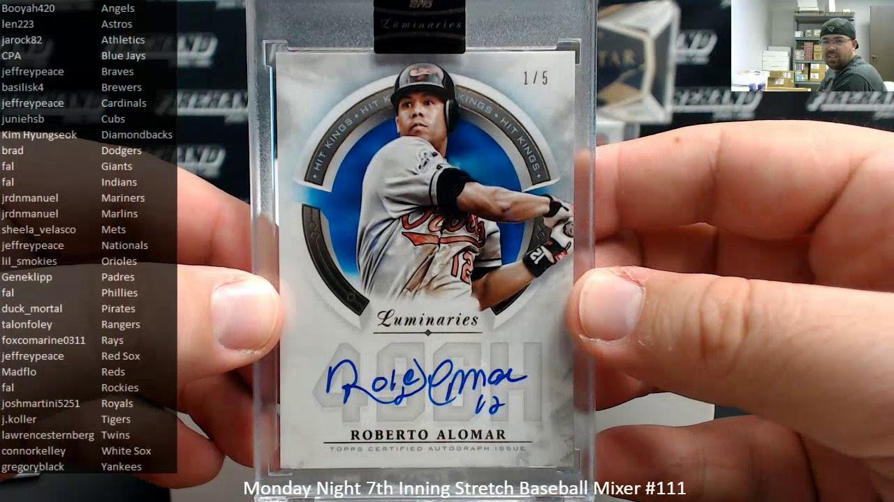 2242020 Monday Night 7th Inning Stretch Baseball Mixer 111 - 2/24/2020 Monday Night 7th Inning Stretch Baseball Mixer #111