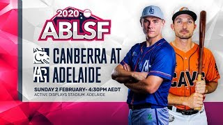 Canberra Cavalry Adelaide Giants ABLSF Game Three - Canberra Cavalry @ Adelaide Giants | #ABLSF Game Three