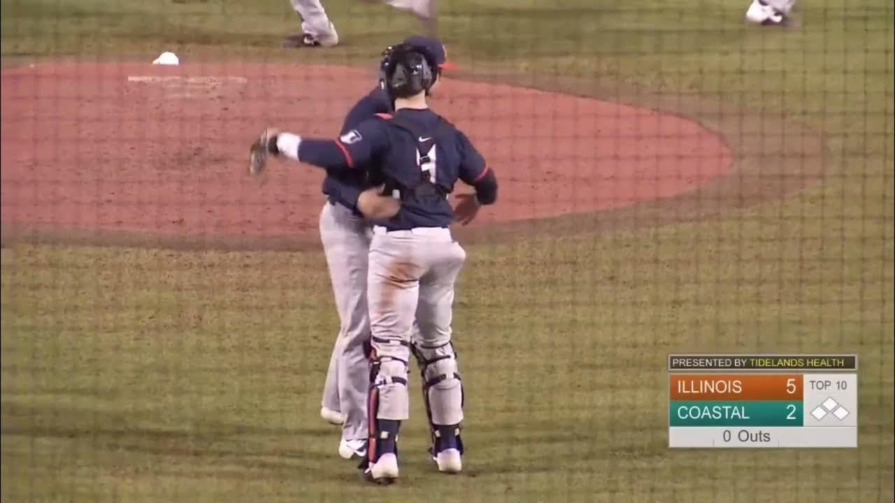 Illini Baseball Highlights at Coastal Carolina 22220 - Illini Baseball | Highlights at Coastal Carolina 2/22/20