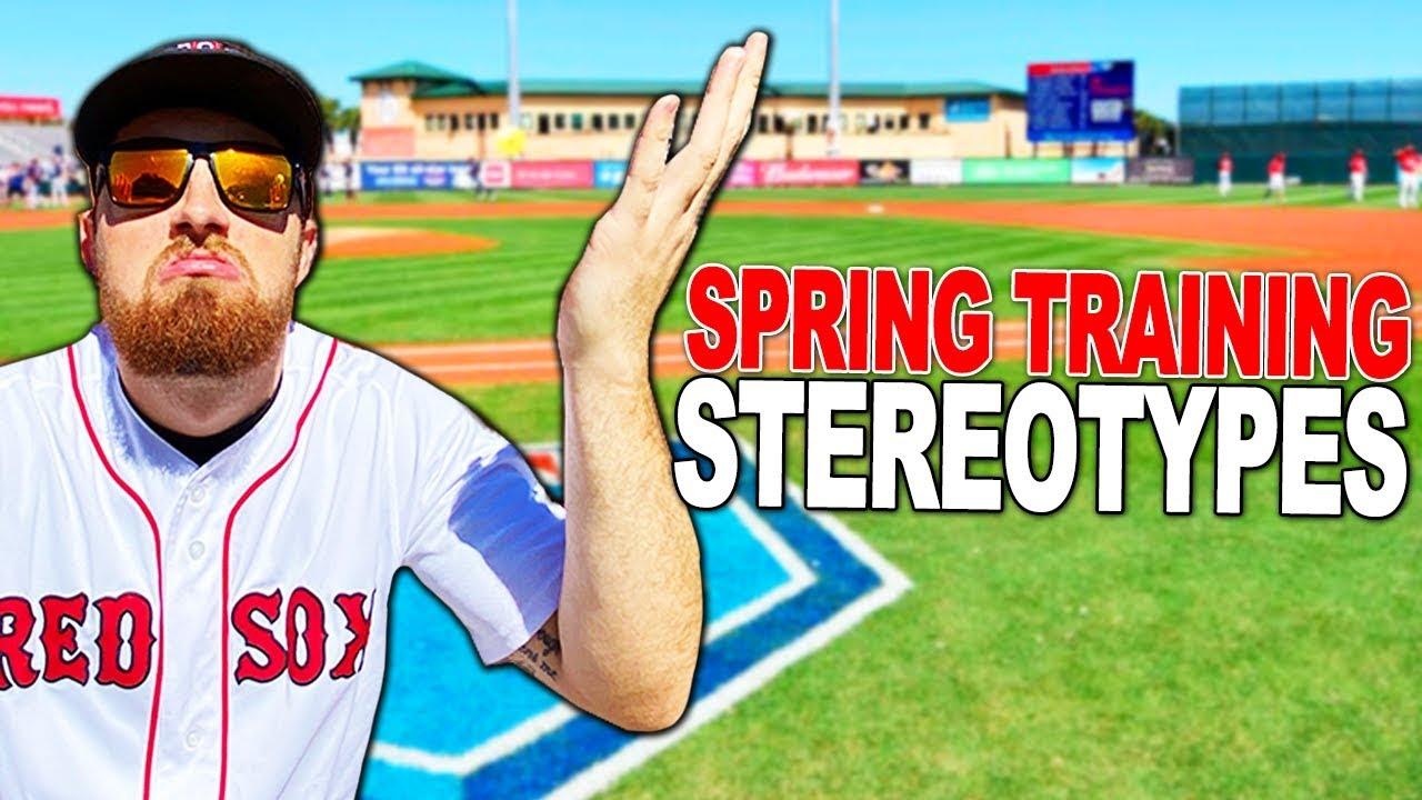 MLB SPRING TRAINING BASEBALL STEREOTYPES - MLB SPRING TRAINING BASEBALL STEREOTYPES!