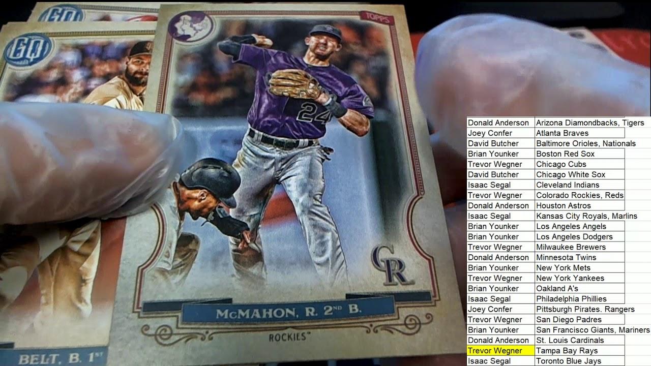 2020 Topps Gypsy Queen Baseball Hobby Box ID 20TOPGQBB209 - 2020 Topps Gypsy Queen Baseball Hobby Box ID 20TOPGQBB209