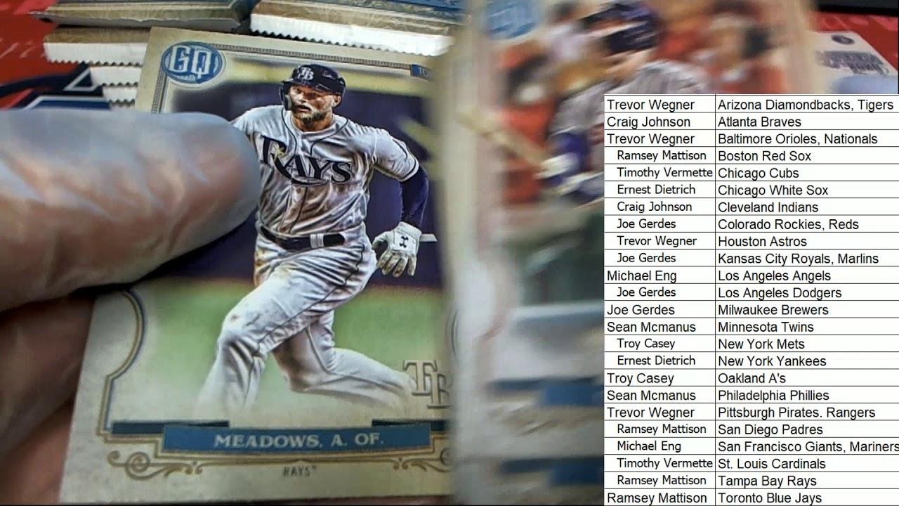2020 Topps Gypsy Queen Baseball Hobby Box ID 20TOPGQBB248 - 2020 Topps Gypsy Queen Baseball Hobby Box ID 20TOPGQBB248