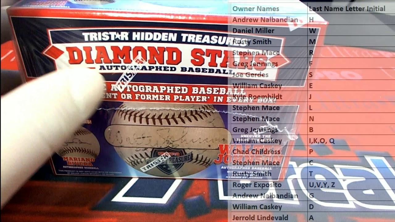 2020 Tristar Diamond Stars Autographed Baseball ID DIAMONDSTARS104 - 2020 Tristar Diamond Stars Autographed Baseball ID DIAMONDSTARS104